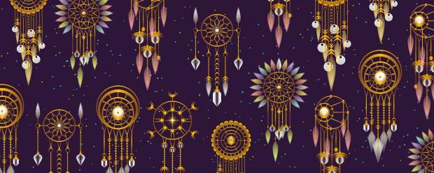изображения ловцов снов схематические