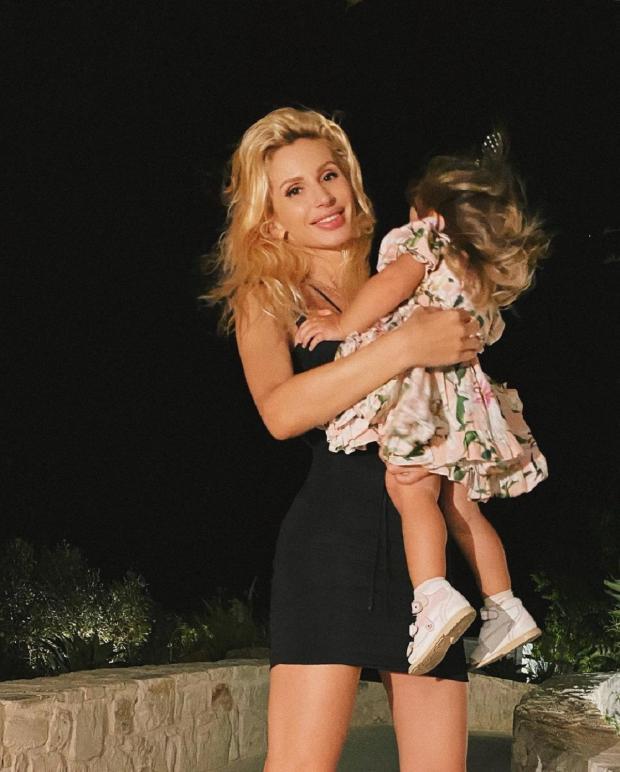 Светлана Лобода с дочерью