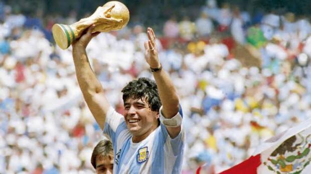 Легендарный футболист Диего Марадона