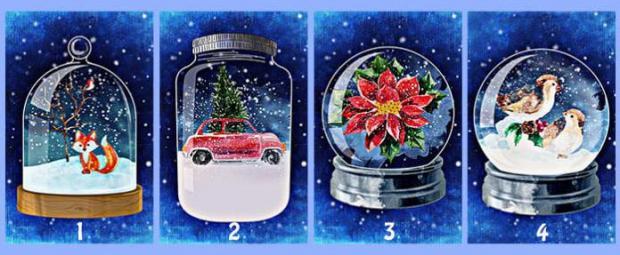 тест-предсказание через выбор новогоднего сувенира
