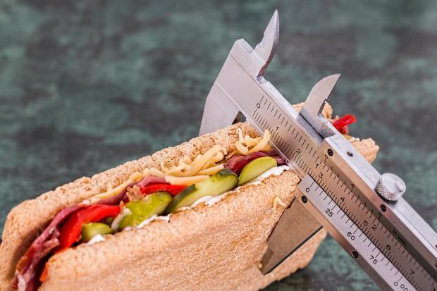 сэндвич в штанген-циркуле