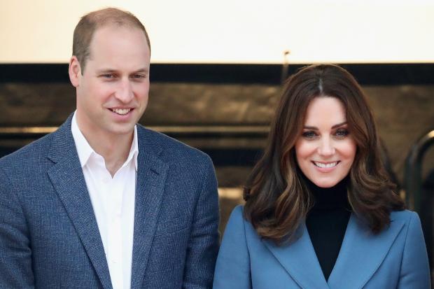Кейт Миддлтон с мужем