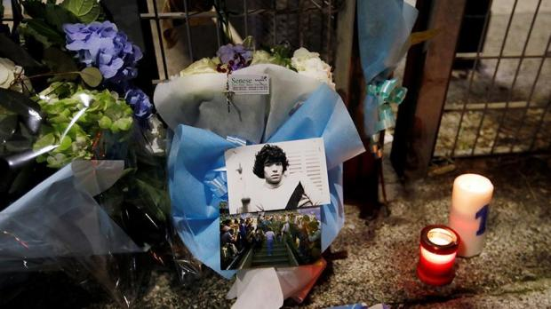 похороны Марадоны