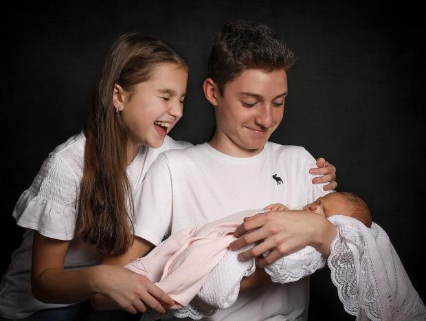 трое детей Лилии Подкопаевой