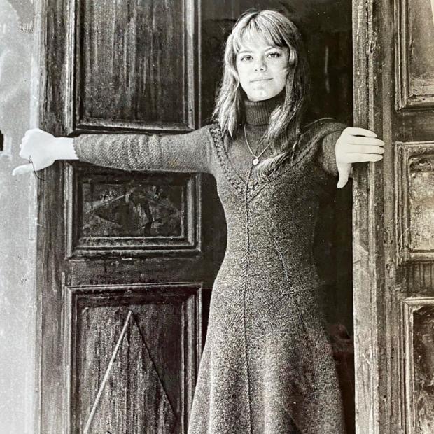 Яна Поплавская в молодости