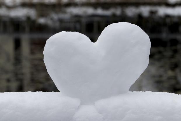 снежное сердце