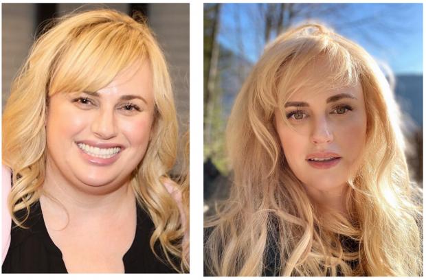 Ребел Уилсон до похудения и после