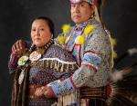 Женщина из племени навахо и мужчина из племени лакота
