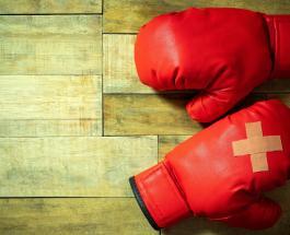 Неравная битва полов: в России состоялся бой между худой спортсменкой и толстым мужчиной