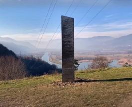 Загадочный монолит появился в Румынии за день до исчезновения инсталляции в штате Юта