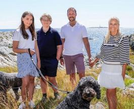 Младшему сыну кронпринца Норвегии исполнилось 15 лет: новый портрет Сверре Магнуса