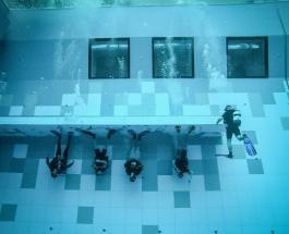 Самый глубокий бассейн открыли в Польше: искусственный водоем побил рекорд сооружения из Италии