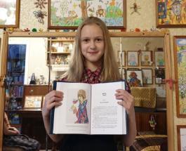 Рисунок школьницы из России украсит новую книгу Джоан Роулинг
