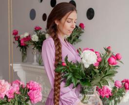 Украинская Рапунцель: фото Алены Ануфриевой которая не стригла волосы 19 лет