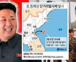 Северная Корея запустила ракеты малой дальности