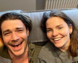 Стильная пара Максим Матвеев и Елизавета Боярская: супруги посетили премьеру нового фильма