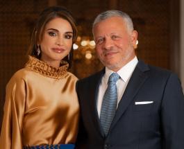 Красивая королевская семья Иордании - новый портрет короля Абдаллы и королевы Рании с детьми