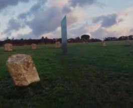 Новый загадочный металлический монолит появился и исчез в Великобритании
