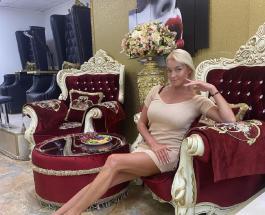 Анастасия Волочкова в красивом платье восхищает красотой и женственностью