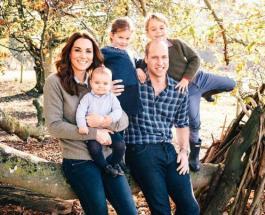 Рождественская открытка семьи Кейт Миддлтон и Принца Уильяма - новое фото Кембриджей