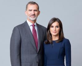 Впервые за 5 лет король и королева Испании не появились на рождественской открытке