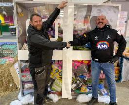 Отец-одиночка из Великобритании потратил крупную сумму на подарки для бедных детей