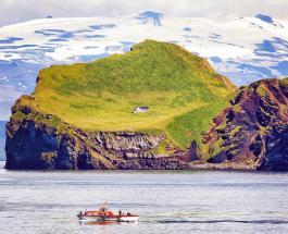 Тайна одинокого дома на живописном острове Эдлидаэй в Исландии