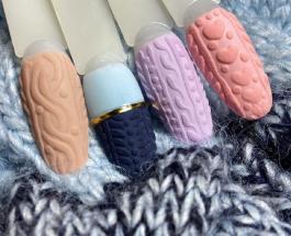 """""""Вязаный"""" маникюр: красивые и уютные варианты зимнего дизайна ногтей"""