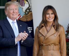 Дональд и Мелания Трамп в одинаковых нарядах: новый официальный портрет пары