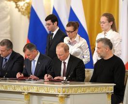 Президент России узаконил присоединение Крыма и Севастополя