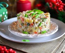 """""""Оливье"""" с телятиной и домашним майонезом: пошаговый рецепт любимого праздничного блюда"""