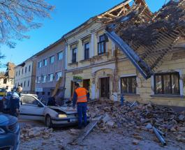 7 человек погибли в результате сильного землетрясения в Хорватии