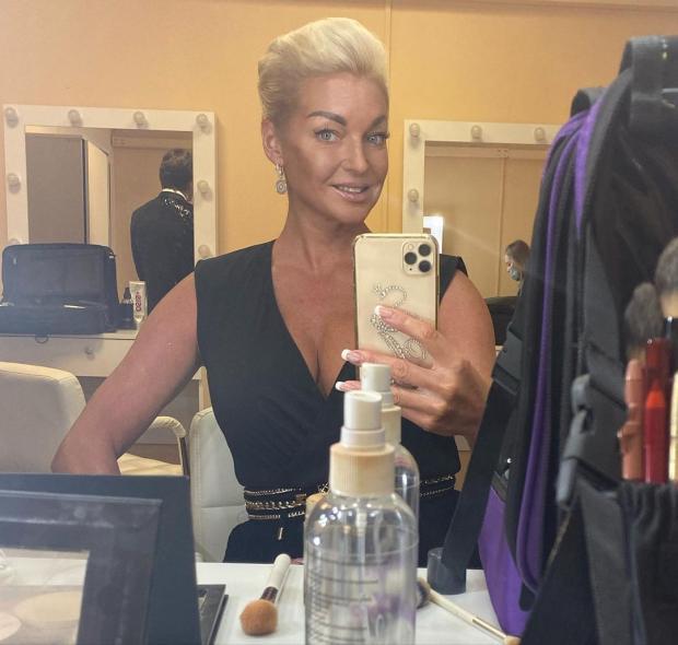 Анастасия Волочкова с новой прической