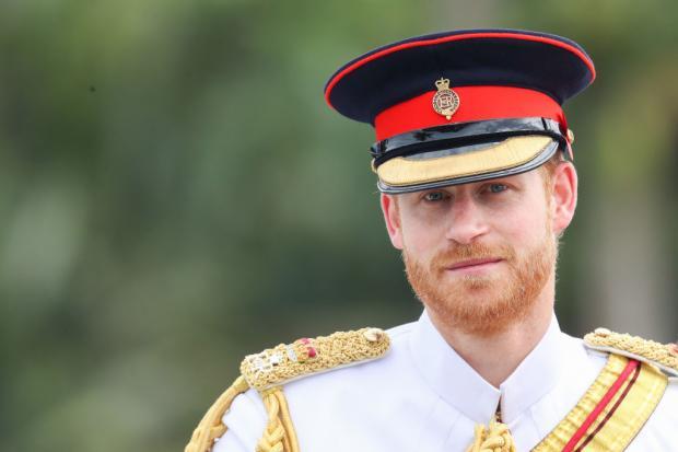Принц Гарри в военной форме