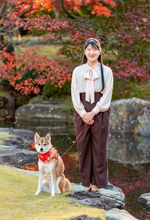 Принцесса Айко с собакой