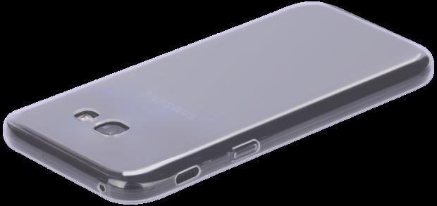 телефон в прозрачном чехле