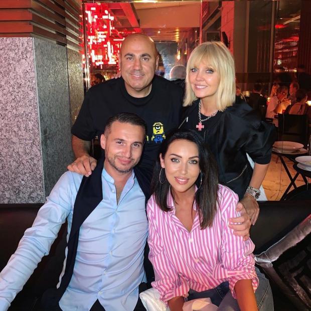 Алсу и Валерия с мужьями