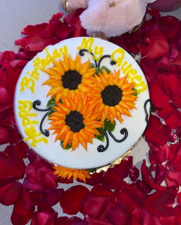 Фото праздничного кекса