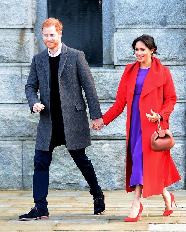 Принц Уильям и беременная Меган Маркл