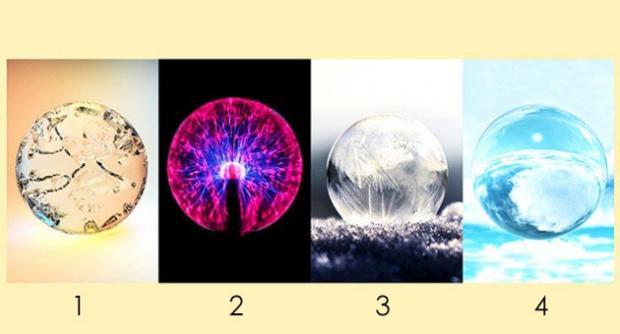 картинка для теста-предсказания по хрустальным шарам