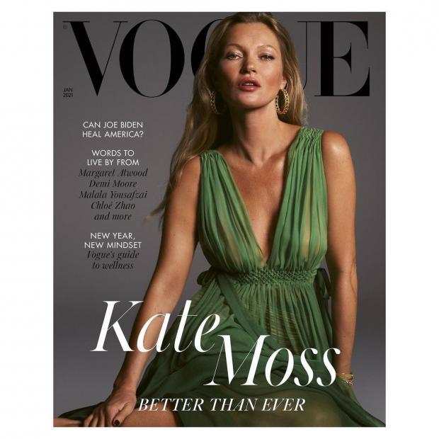 Красивая и стройная Кейт Мосс
