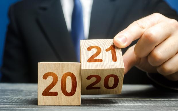 кубики с надписями 2020-2021