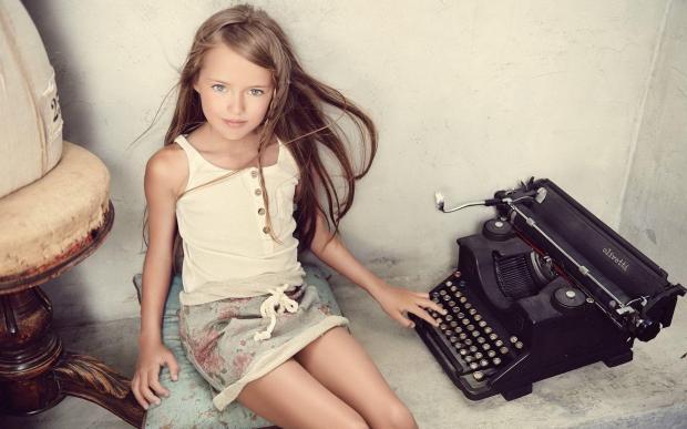 Кристина Пименова в детстве