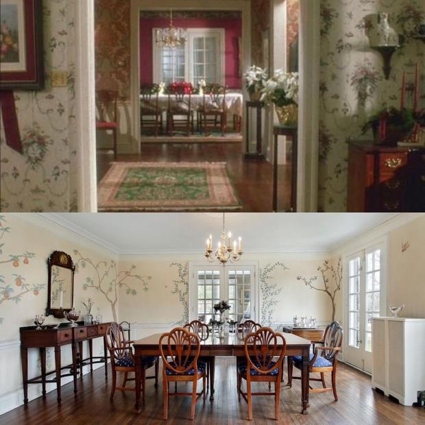 Столовая до и после ремонта