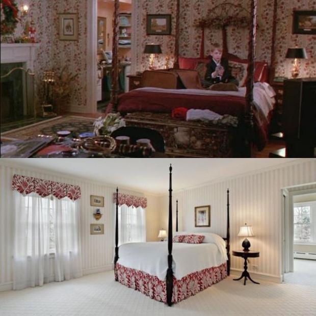 Родительская спальня до и после ремонта