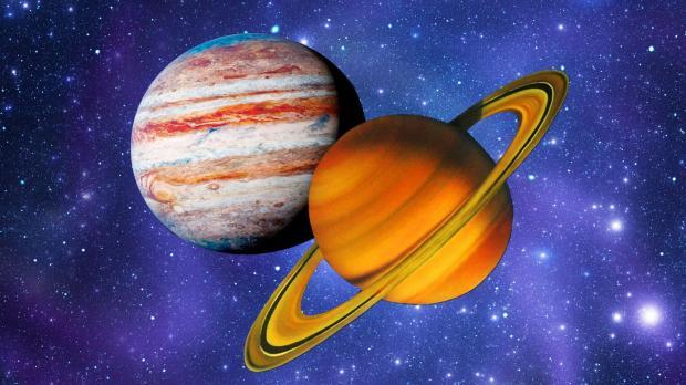 планеты Юпитер и Сатурн