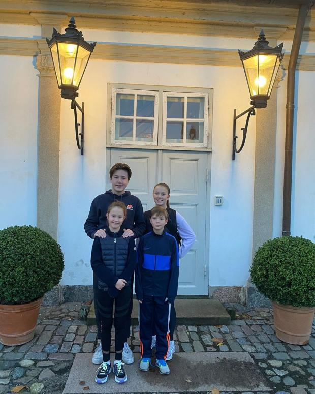 4 детей Принца Фредерика и Принцессы Мэри