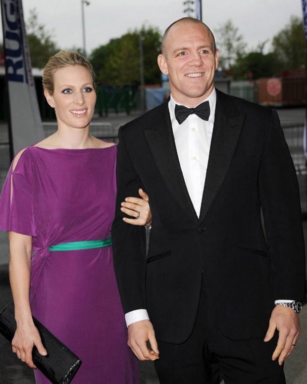 Зара Тиндолл и Майкл Тиндолл в красивых нарядах