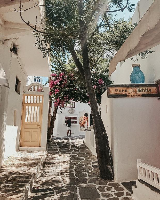 Улица на острове Миконос