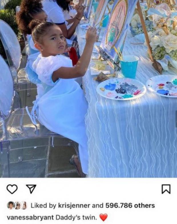 день рождения дочери Коби Брайанта